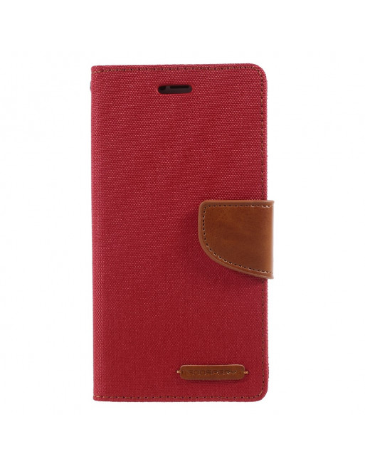 Canvas Diary - Iphone X/XS Hoesje - Rood
