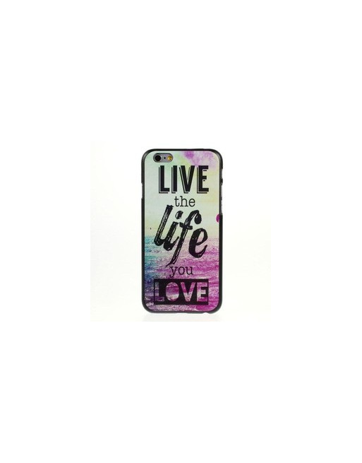 PC Hardcase iPhone 6(s) - Live The Life You Love