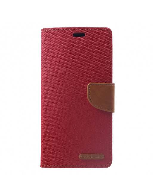 Canvas Diary - Iphone XS Max Hoesje - Rood