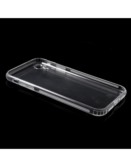 Anti-slip Softcase - Iphone XR Hoesje - Transparant