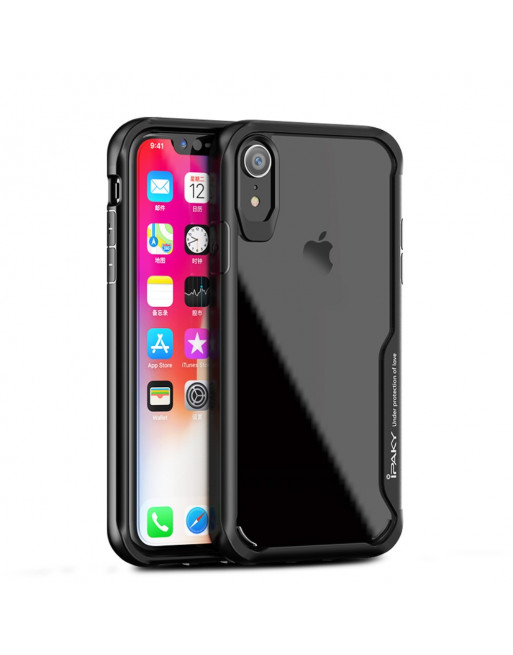 Hardcase iphone xr case - Zwart