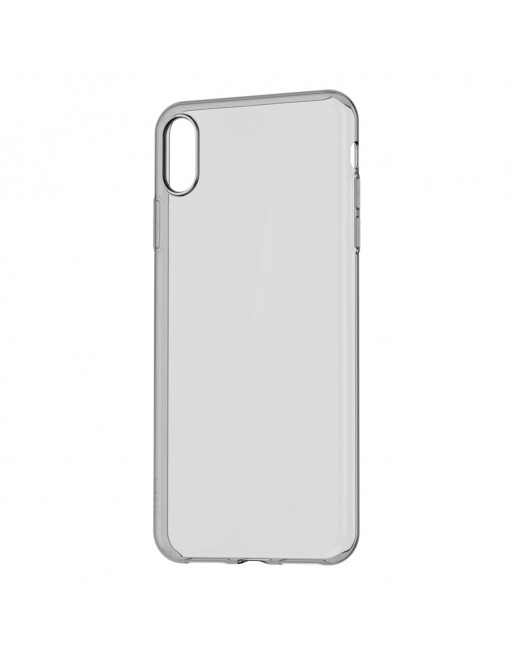 TPU softcase - iPhone XR - Zwart/ Transparant