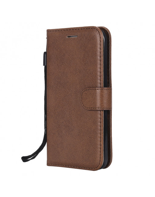 Leren Wallet Case - iPhone 5(s)/SE - Bruin