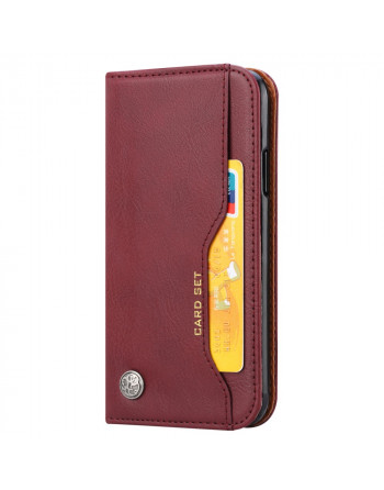 Leren Wallet Case - iPhone...