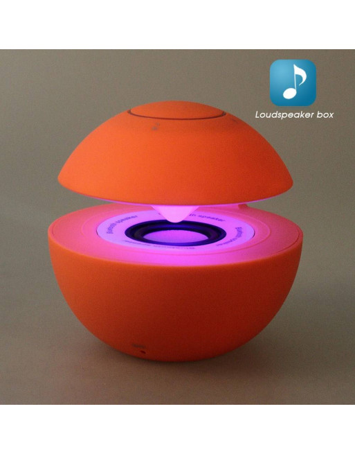 Mini Speaker Bluetooth/Aux - Rood