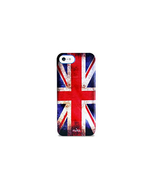 Anti-schok cover Iphone 5(s)/SE - Flag - Puro