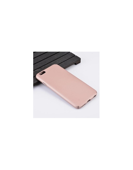 Rubber Coating Hardcase iPhone 6(s) - Rosé-Goud