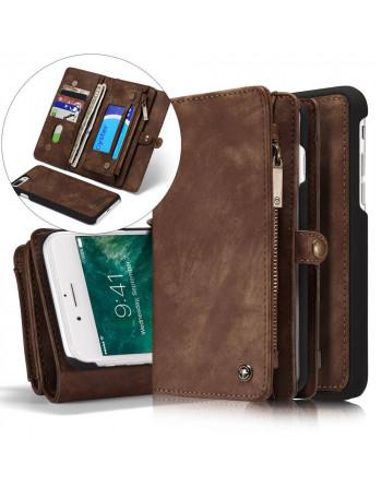 Leren Wallet iPhone 7/8...