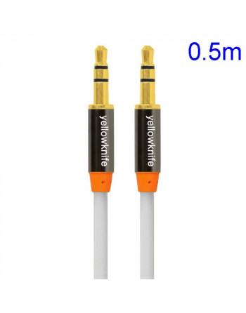 3.5mm Aux Kabel - Wit