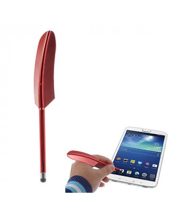 Touch pen veer - Rood