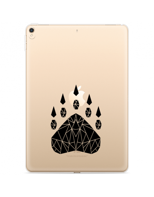 Apple iPad 10.2 2019 Hoes geometrische klauw - transparant