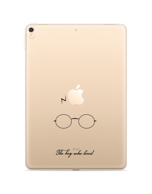 Apple iPad 10.2 2019 Hoes The Boy Who Lived - transparant