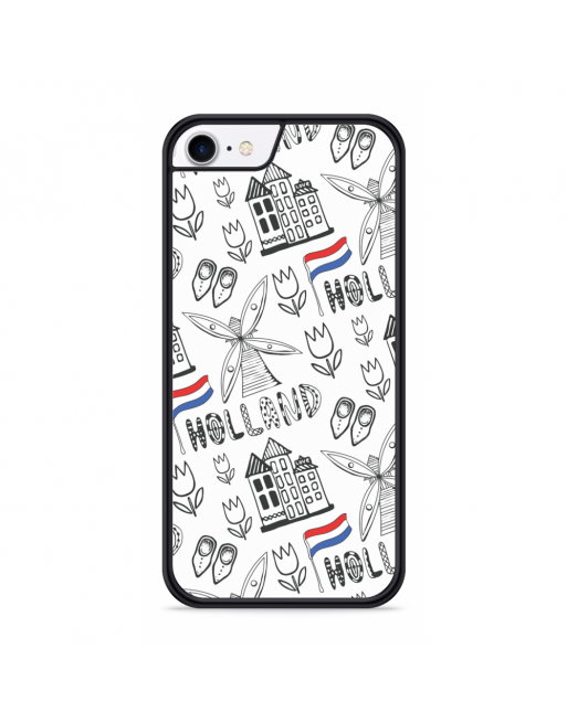 iPhone SE 2020 Hardcase hoesje Holland - transparant