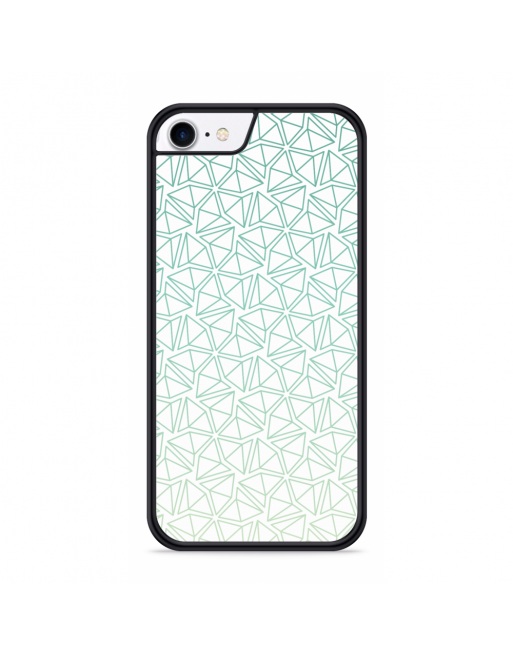 iPhone SE 2020 Hardcase hoesje Triangles