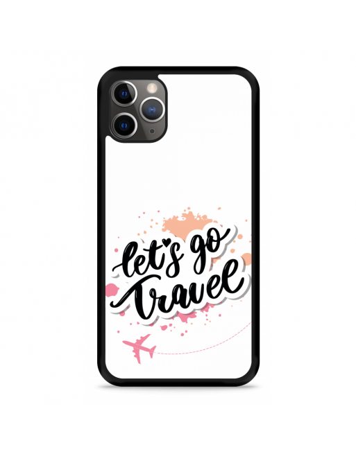 iPhone 11 Pro Hardcase hoesje Go Travel - transparant