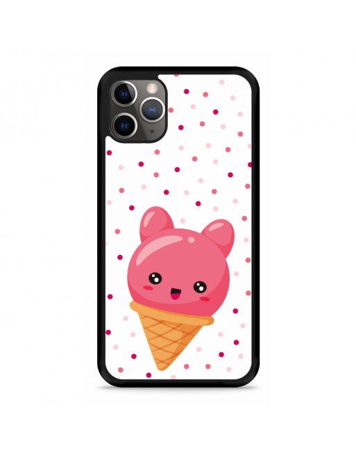 iPhone 11 Pro Hardcase hoesje Ice cone - transparant