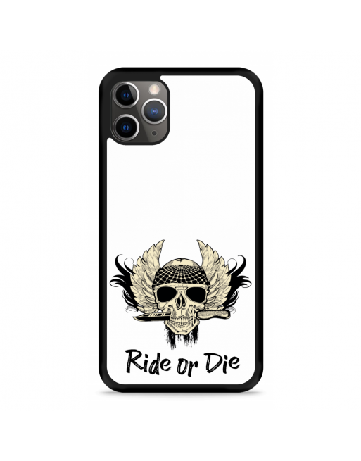 iPhone 11 Pro Hardcase hoesje Ride or Die - transparant