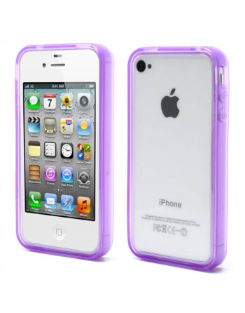 Bumper iphone 4/4s Paars