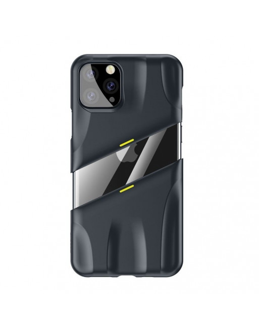 Game hoesje iPhone 11 Pro Max - Airflow cooling - Zwart