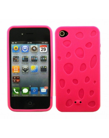 Waterdruppel tpu cover Roze
