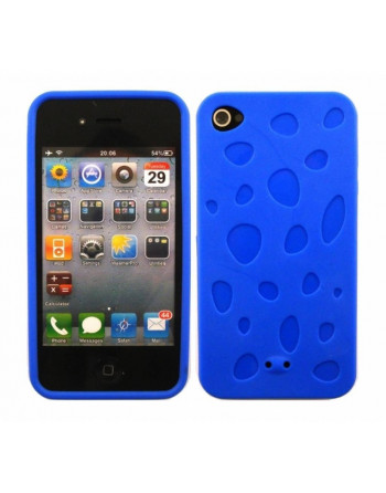 Waterdruppel tpu cover Blauw