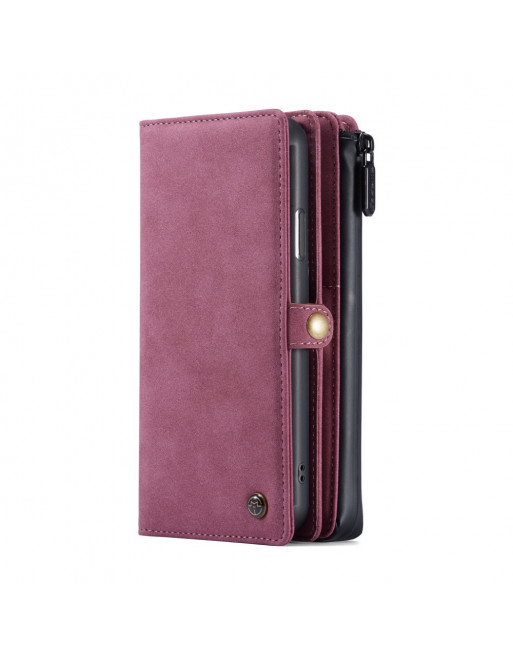 Leren Wallet iPhone 11 Pro - Bordeaux