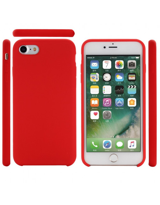 Silicone iphone 8 case  (iPhone 7/8/SE 2020) - rood