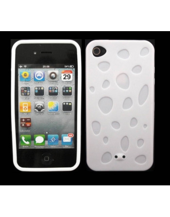 Waterdruppel tpu cover Wit