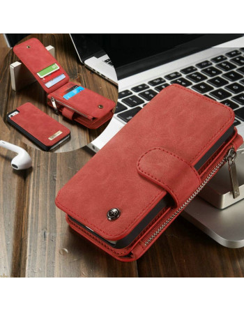 Leren Wallet iPhone 5(s)/SE...