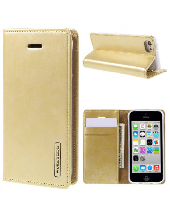 PU Leren Wallet iPhone 5c -...