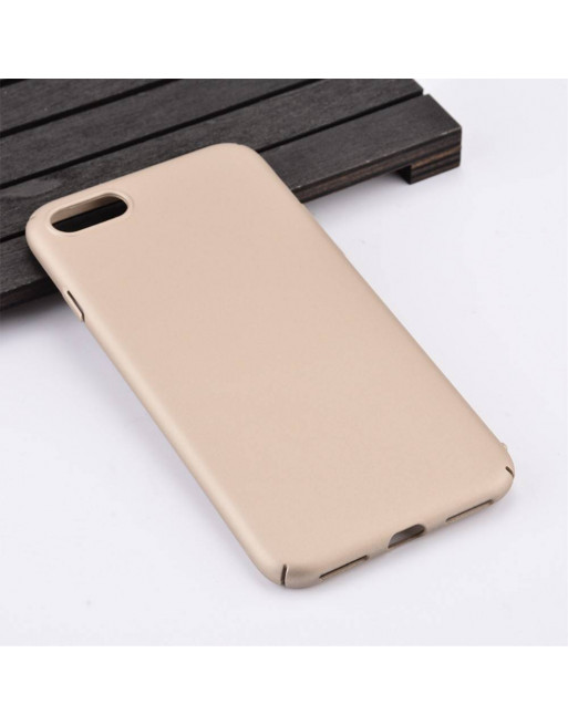 Rubber Coating Hardcase iPhone 7/8 plus - Goud