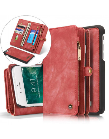 Luxe Leren Wallet iPhone X...
