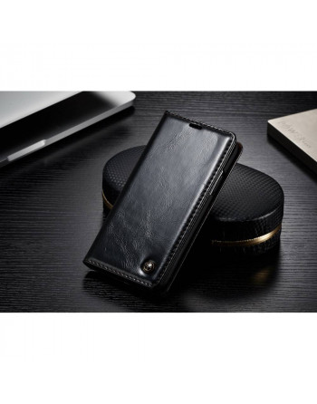 Leren Wallet iPhone X/ Xs...