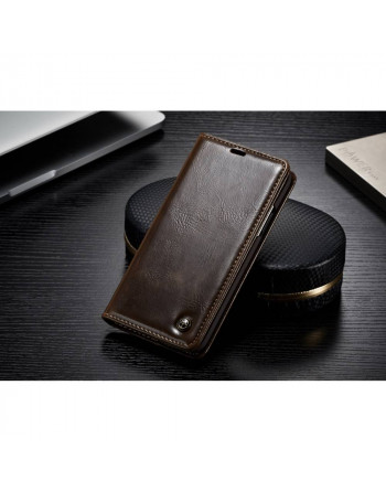 Leren Wallet iPhone X/ Xs -...
