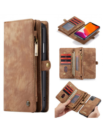 2 in 1 Leren Wallet + Case...