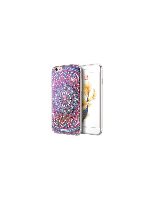 Bling TPU Softcase Casecube iPhone 6(s) - Bohemisch