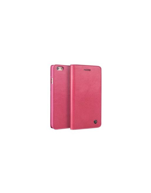 Leren Wallet Qialino iPhone 6(s) - Roze