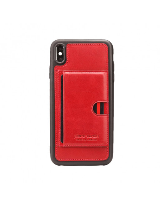 Card Holder Softcase - Iphone XR Hoesje - Rood